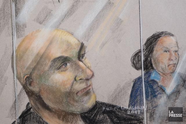 Bertrand Charest est jugé sous 57 accusations de... (Archives La Presse)