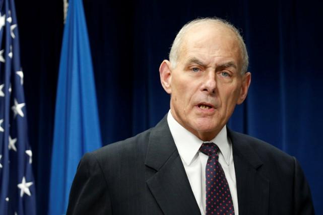 John Kellyest en charge du contrôle de l'immigration... (PHOTO REUTERS)