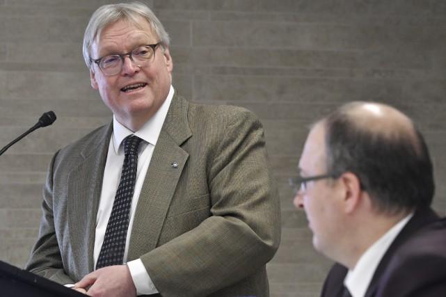 Le ministre de la Santé et des Services... (Stéphane Lessard)