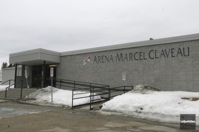 L'aréna Marcel-Claveau de Saint-Ambroise.... (Archives Le Quotidien)