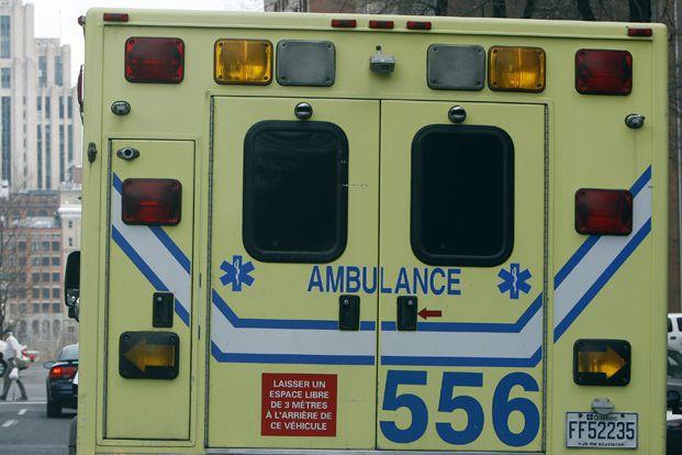 Les ambulanciers paramédicaux de Saint-Tite et de Louiseville... (Photo Archives La Presse)