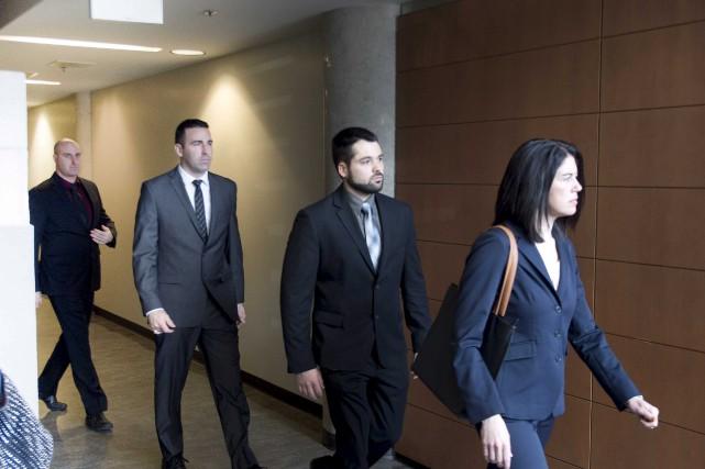 Le procès des quatre policiers pour voies de... (Sylvain Mayer)