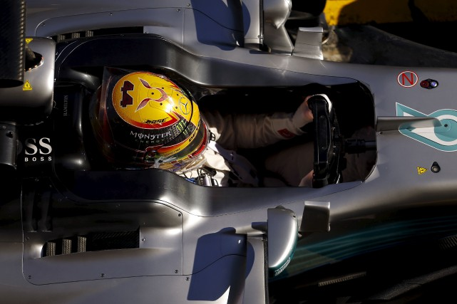 Les voitures de la saison 2017 seront plus... (AP, Francisco Seco)