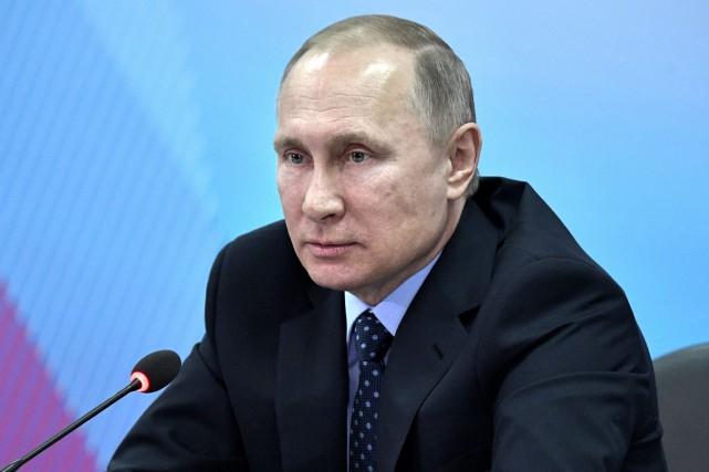 Le président russe Vladimir Poutine.... (REUTERS)