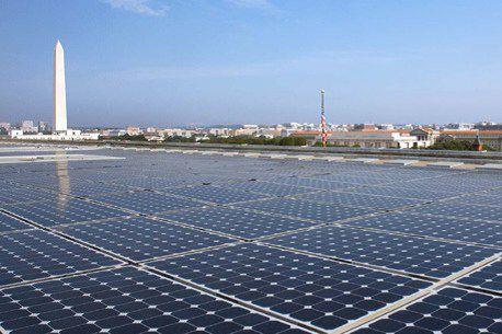 Projet d'énergie solaire développé par Standard Solar.... (Standard Solar (Groupe CNW/Gaz Métro))