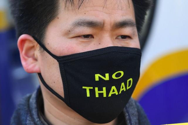 La Chine considère que le système THAAD (Terminal... (AFP)