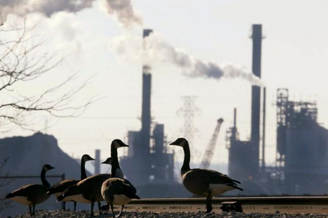 Pour respecter son engagement sur le changement climatique,... (Photo Kevin Frayer, archives La Presse canadienne)
