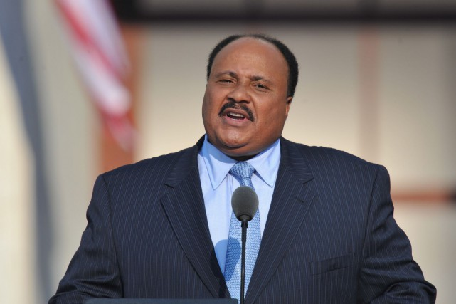 Martin Luther King III a déclaré que le Canada... (Archives AFP)