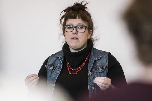 Mylène Bérubé... (Spectre Média : Jessica Garneau)