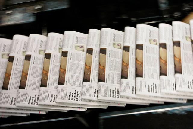 La décision de publier les avis publics exclusivement... (Photothèque Le Soleil)