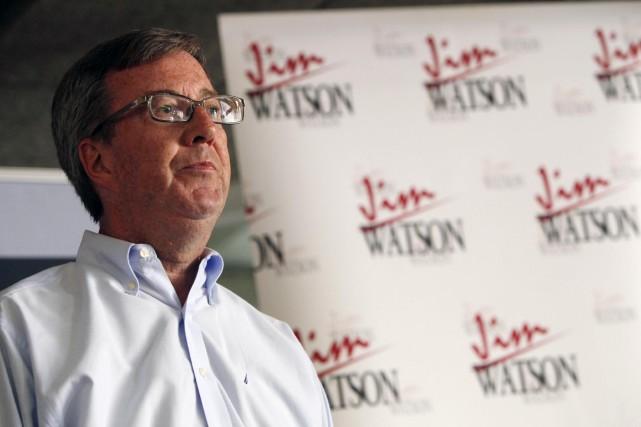 Jim Watson maintient le suspense et refuse de... (Simon Séguin-Bertrand, Archives Le Droit)