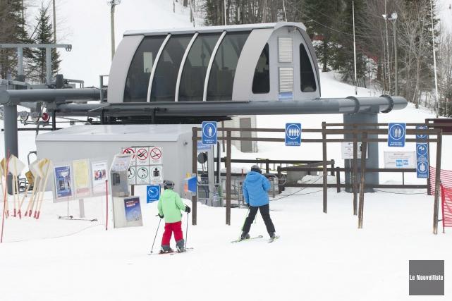 En raison des conditions climatiques actuelles, la station... (Photo: Le Nouvelliste, Sylvain Mayer)