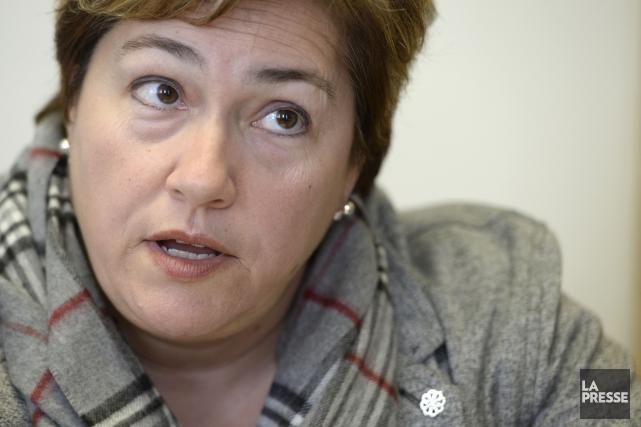 La vice-présidente du comité exécutif de Montréal, Anie... (PHOTO BERNARD BRAULT, archives LA PRESSE)