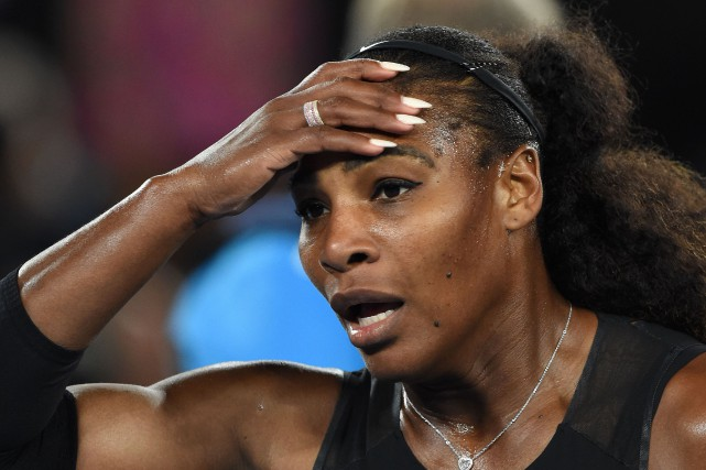Serena Williams... (PHOTO PAUL CROCK , ARCHIVES AFP)