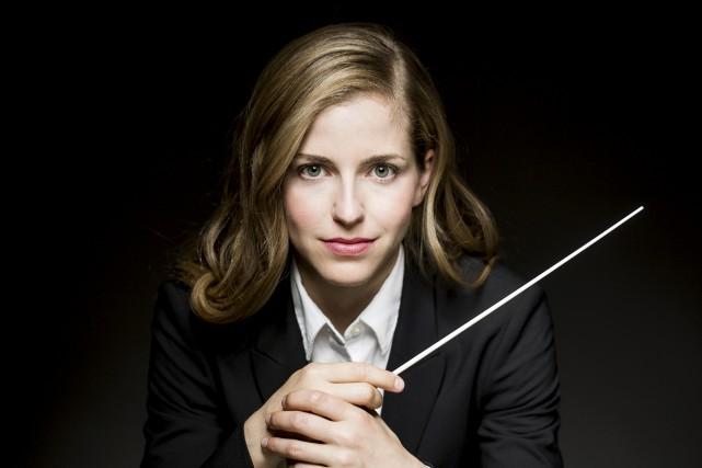Étoile montante de la direction d'orchestre, la cheffe... (Courtoisie, Todd Rosenberg Photography)