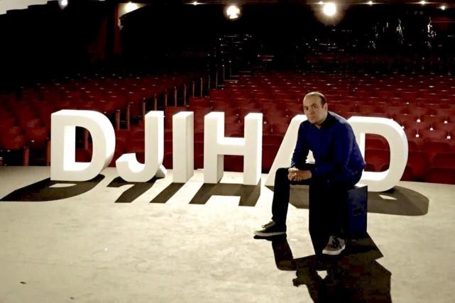 L'homme de théâtre Ismaël Saidi s'explique mal pourquoi... (tirée du site djihadspectacle.com)