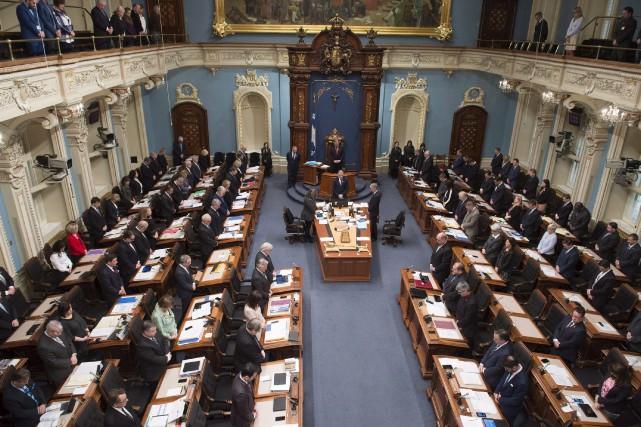 Entre 1998 et 2014, le Québec est passé... (La Presse canadienne, Jacques Boissinot)