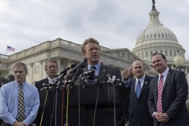 «C'est Obamacare version légère», a dénoncé le sénateur... (AP, Susan Walsh)