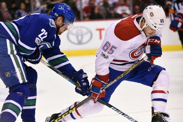 Relisez le clavardage du match entre le Canadien et les Canucks de Vancouver... (PHOTO REUTERS)
