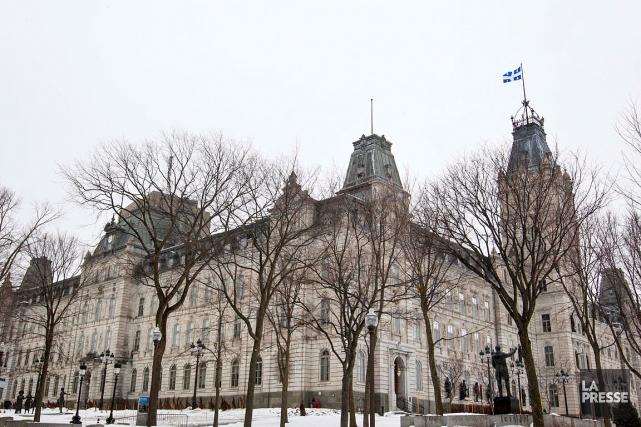 L'hôtel du Parlement du Québec abrite l'Assemblée nationale... (Archives La Presse)