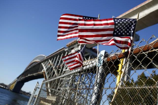 Le pont de Bayonne, New Jersey.... (AP)