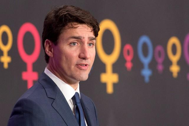 Pour le chef du gouvernement canadien, qui était... (Adrian Wyld, PC)