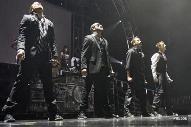 Les Backstreet Boys organisent un «after party» à... (Archives La Presse, David Boily)
