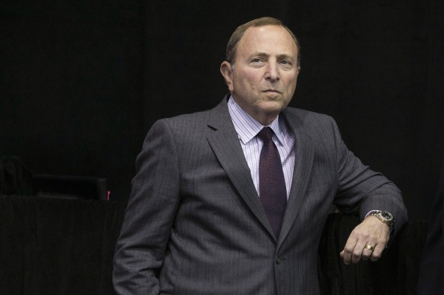 Le commissaire de la LNH Gary Bettman.... (Photo Chris Young, archives La Presse canadienne)