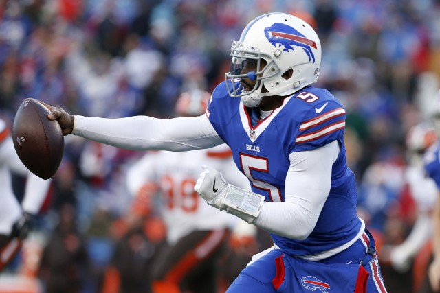 Tyrod Taylor... (Photo Timothy Ludwig, USA Today Sports)