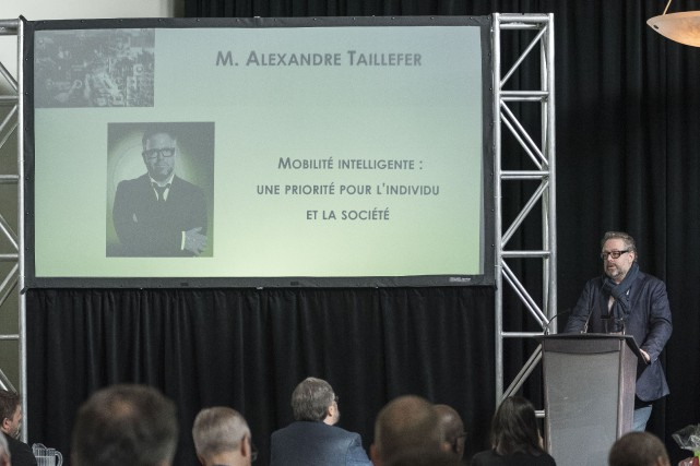 Alexandre Taillefer... (Photo Spectre Média, Frédéric Côté)