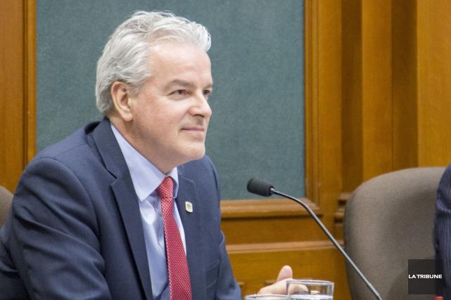 Le maire de Sherbrooke Bernard Sévigny... (Archives La Tribune, Marie-Lou Béland)