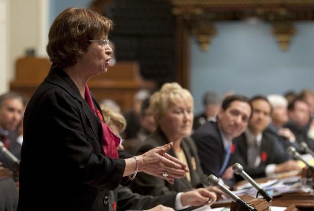 Marie Malavoy a été députée et ministre dans... (PHOTO: ARCHIVES LA PRESSE CANADIENNE)