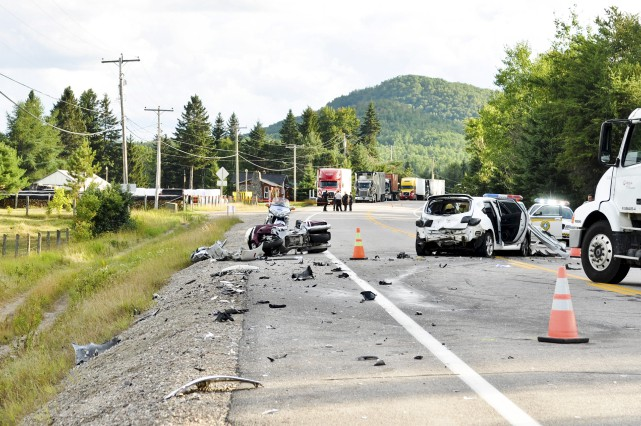 L'accident du 7 août 2012 a coûté la... (Photo: Archives)