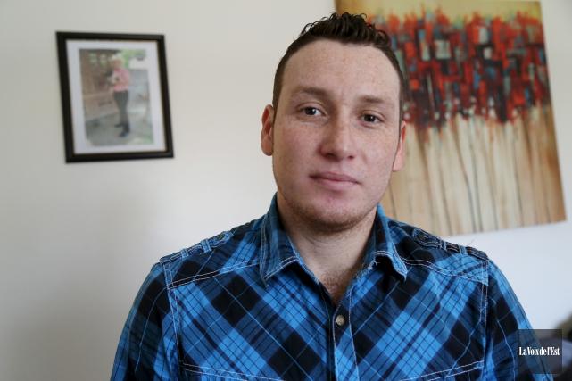 Angel Garcia Garcia, qui vit à Granby, est... (Janick Marois, La Voix de l'Est)