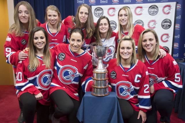 Les Canadiennes de Montréal ont remportéla Coupe Clarkson... (La Presse canadienne, Ryan Remiorz)