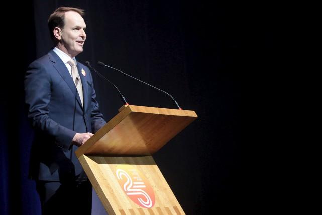 Steven MacKinnon, député fédéral de Gatineau, a annoncé... (Etienne Ranger, Le Droit)