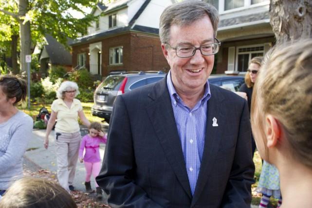 Le maire d'Ottawa, Jim Watson, briguera un troisième... (Martin Roy, Archives Le Droit)