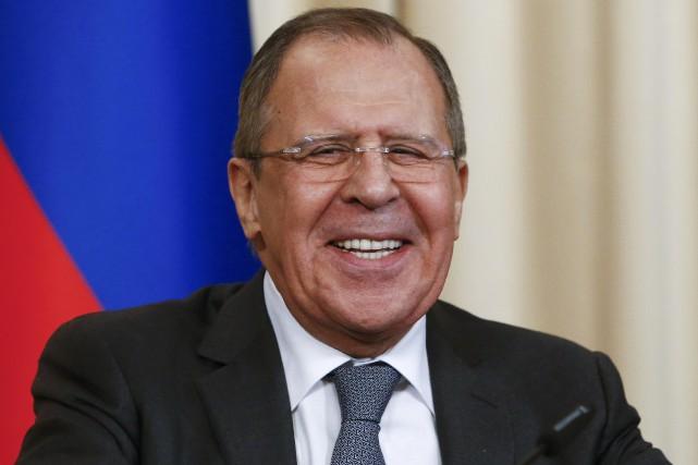 Sergueï Lavrov... (Photo Sergei Karpukhin, REUTERS)
