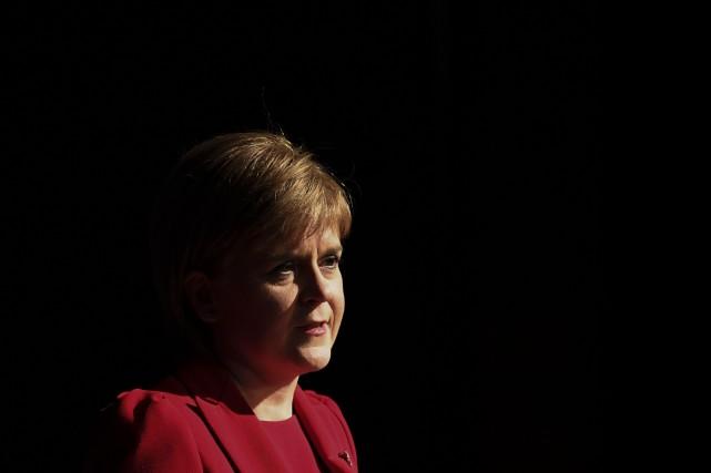 Nicola Sturgeon... (Photo Paul Ellis, archives Agence France-Presse)