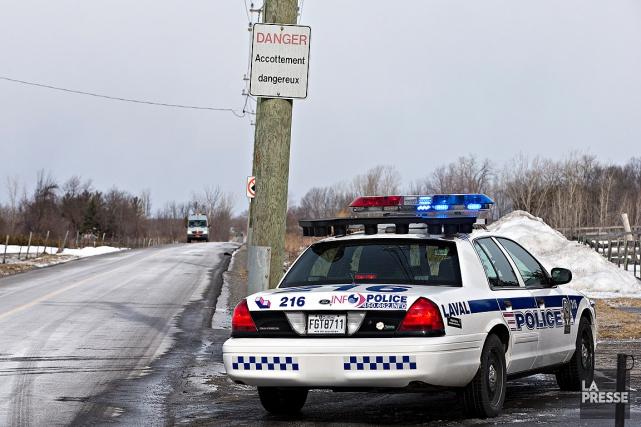 L'homme a été trouvé ligoté et confus jeudi... (Patrick Sanfaçon, La Presse)