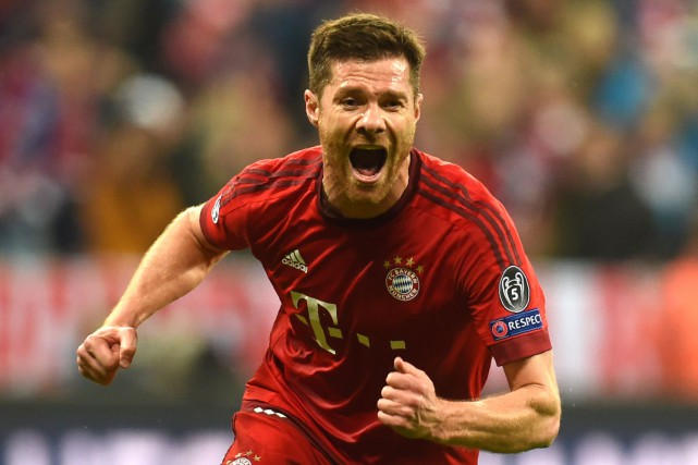 Xabi Alonso... (Photo Christof Stache, AFP)