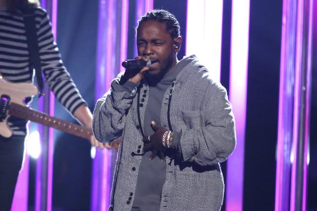 La participation de Kendrick Lamar a déjà été... (AP, Matt Sayles)