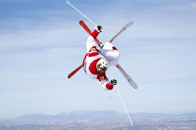 Mikaël Kingsbury visait deux victoires auxChampionnats du monde... (Photo Paul Hanna, Reuters)