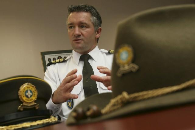 Le commandant de la Sûreté du Québec en... (Patrick Woodbury, Archives Le Droit)