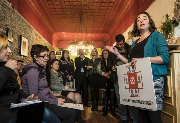 Les femmes entrepreneures du centre-ville comptent partager une... (Spectre Média, Jessica Garneau)