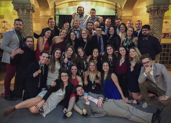La délégation de l'Université du Québec à Trois-Rivières...