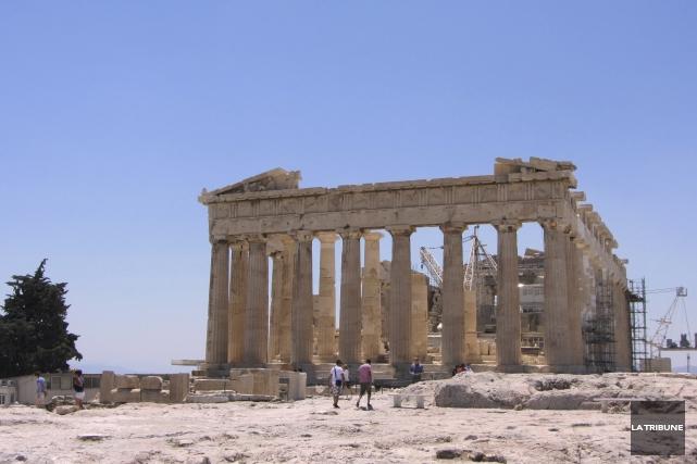 Avec un groupe d'amis, à Athènes, j'ai réinventé... (La Tribune, Jonathan Custeau)