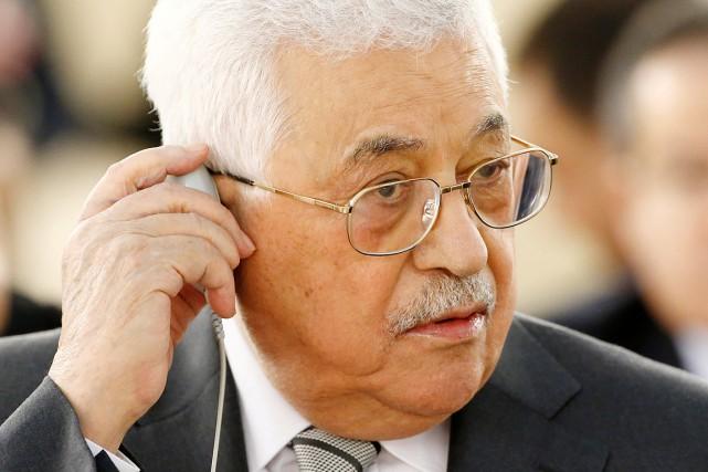 Le président palestinien, Mahmoud Abbas.... (Denis Balibouse, archives REUTERS)