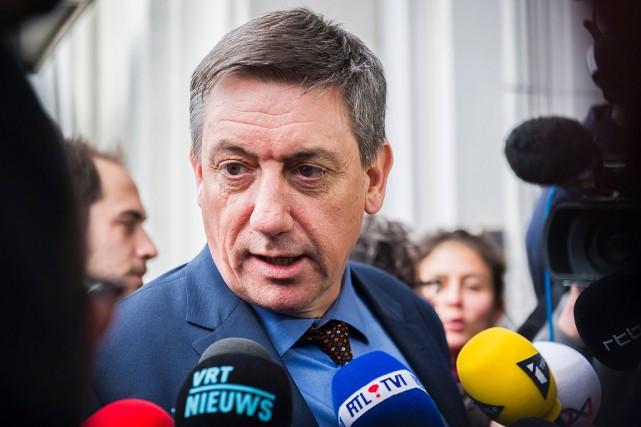 Le ministre belge de l'Intérieur, Jan Jambon.... (LAURIE DIEFFEMBACQ, ARCHIVES AFP)
