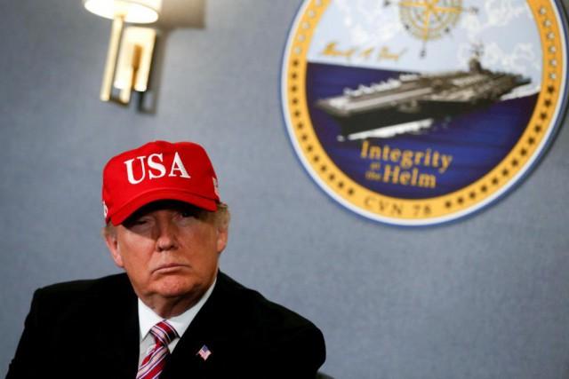 Le président Donald Trump a annoncé son intention... (PhotoJonathan Ernst, Reuters)